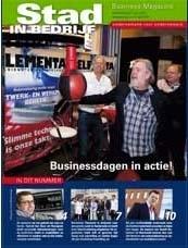 #Stad&Bedrijf zet ons vol op de voorpagina van het aprilnummer. Ik vind dat fijn #kado #harderwijk #ict #zijnwegoedin