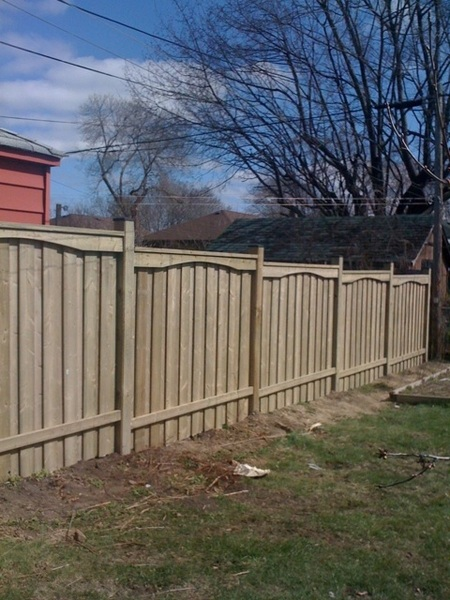 """The new beautiful fence. From here on out known as """"Wall""""."""