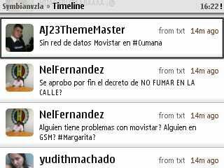 Mier...mi TL parece de twiteros cubanos puro: from txt cortesía de #movistar xD
