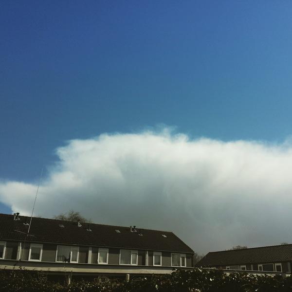 Mooie luchten, oude Pekela, Groningen.  #buienradar