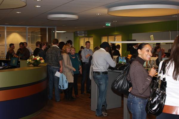 Zeer drukke opening #Rijswijks Werkcentrum