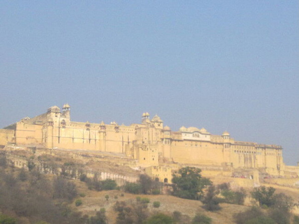 Amber fort is another historical place of #India at #Jaipur. #rtwnow