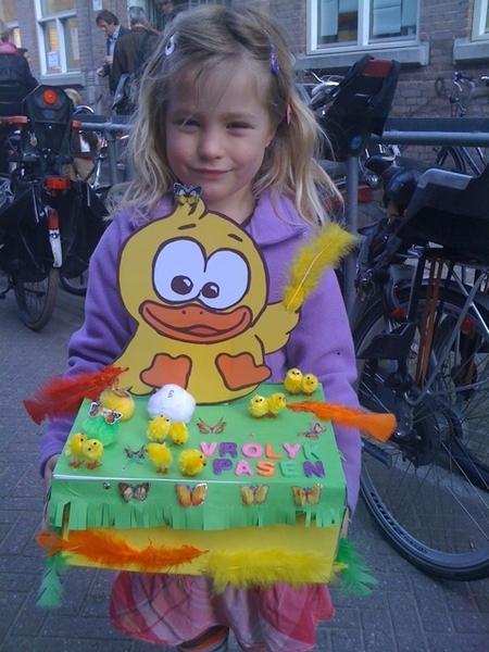 Easter breakfast at school (daughter)