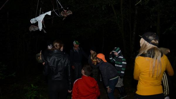 Gisteravond waren er ook #vleermuizen bij de #spooktocht van @bstven #rosmalen