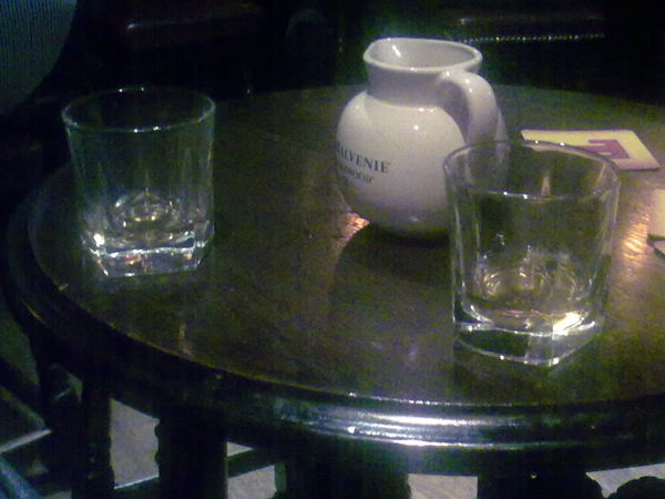Old Bell, Causewayside. IPA, local ale, Auchentoshan 12 and Lagavulin 16. Does it get any better?