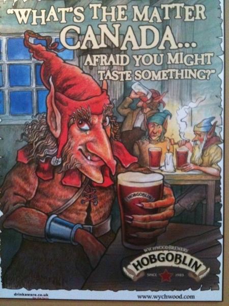 Hobgoblin poster on the wall here. Speaks for itself.