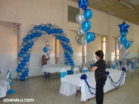 Decora tus xva os con globos de sd by gilberto de los for Mesas para preescolar