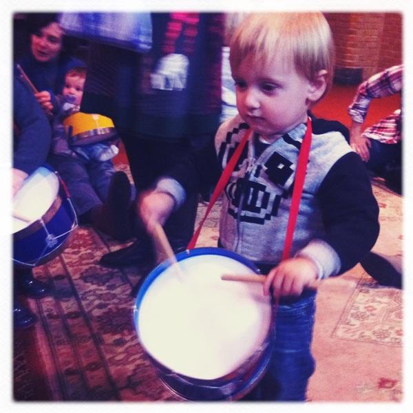 Fletcher of the day: little drummer boy