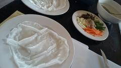 メタバLINEに気を取られましたが、実はベトナム料理のクッキングクラス最中です(^o^) (もちろん黒田と一緒)