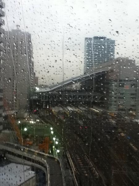 新しい大阪駅(工事中)