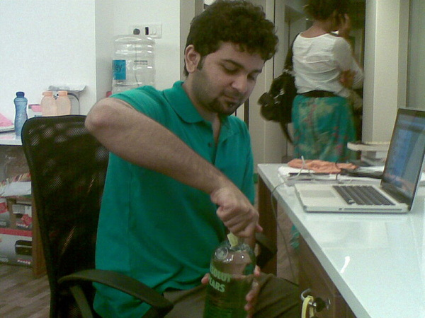 Hey @yashasmitta, look that's happening! It's an Absolut BLAST!