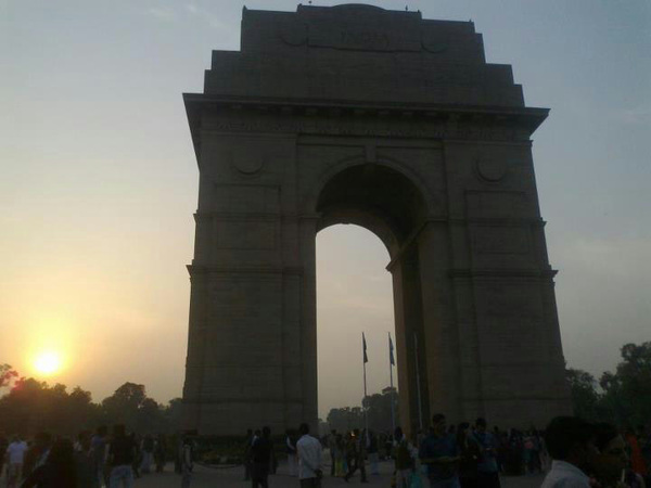 @MumbaiMag #travel #BonVoyage2012! #India Gate #Delhi March 2012