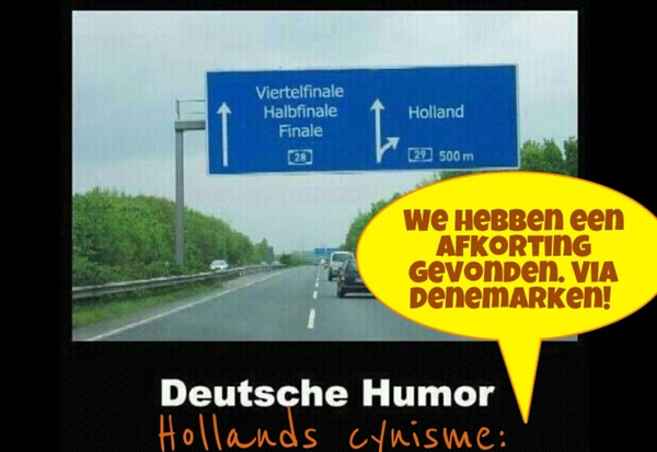 Duitse humor  vs Hollands cynisme #NedDen