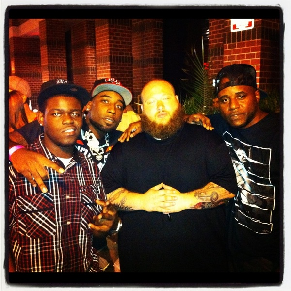 Last night at @club57west taking in a real performance @SirTRAPP @BlackFelony @ActionBronson @CoreyDads #hiphop