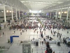 Shanghai Hongqiao Bullet Train Station - huge lobby