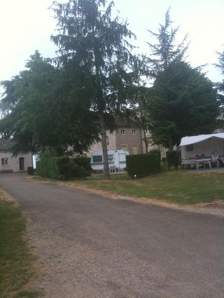Onze eerste stop! Kasteel in Zuid Bourgogne!