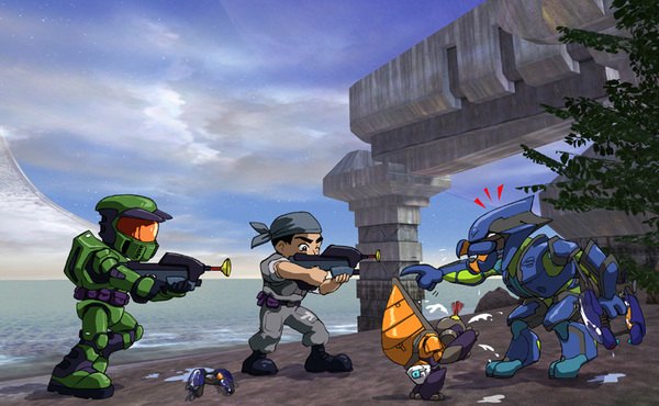 Bet $5 if @bsangel put *THIS* on #CartoonNetwork as #HaloAdventures hella people would watch! #Halo #Anime #Series