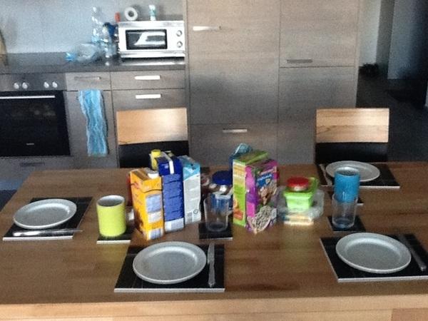 Ontbijt staat klaar :)
