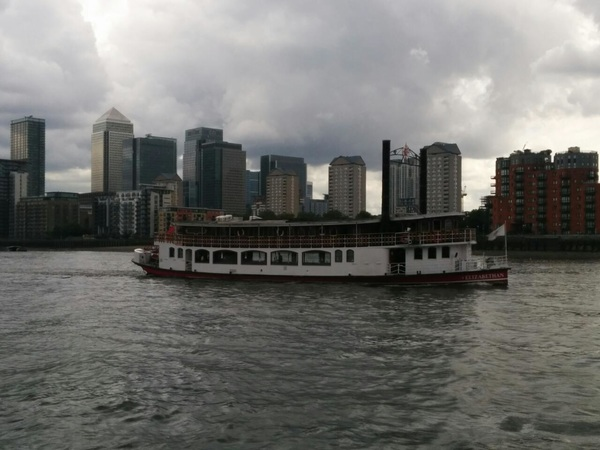 Paddle steamer