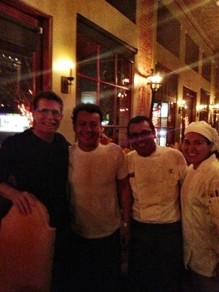 Unexpected day in Houston: with Hugo Oretga (and crew). One of US best Mex chefs, super generous, great guy