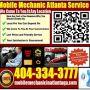 Mobile Mechanics In Sandy Springs GA