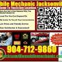 Jacksonville Florida Mobile Mechanic