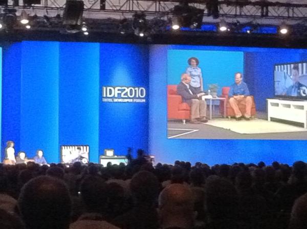 @IntelLabs CTO Justin Rattner Shows #SmartTV remote control You Shake, Twist, Wave #IDF10