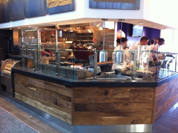 So different working in the airport! But we're moving toward opening Tortas Frontera! Here's first preview pic