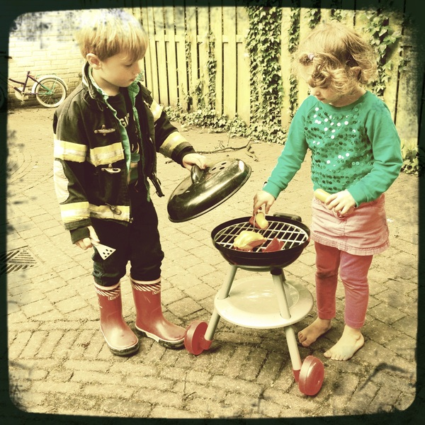Fletcher of the Day: Barbeque with Ellie