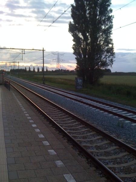 Station Kruiningen-Yerseke in the middle of nowhere...