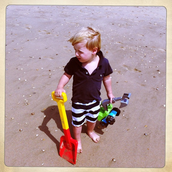 Fletcher of the day: Beach