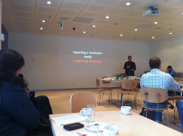 Mooie conclusie van @itanio aan het einde van zijn presentatie