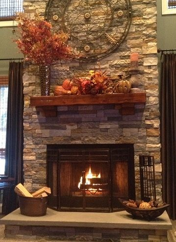 Beautiful Stone Fireplace By Justinca Justinca On Mobypicture