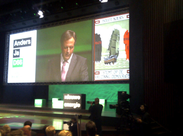Alexander: #D66 claimed het progressieve midden. Mooie illustratie