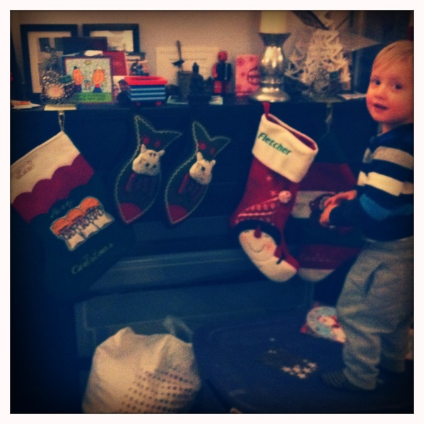 Fletcher of the day: stockings
