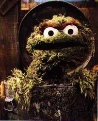 is it just me or does oscar the grouch look like a giant nug of weed?