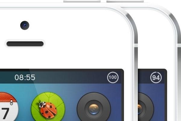『Live Battery Indicator』(要JB) ステータスバーの右端に表示されているバッテリー残量アイコンと数値を、円形のコンパクトなアイコンにまとめて表示することが出来る様になります。残量が減る度に円形も欠けます。