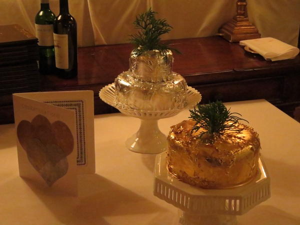 @RWTuckerspoint Was a post-wedding dinner. Here's the traditional Bermuda wedding cakes you made 4 Ashley & Chris.