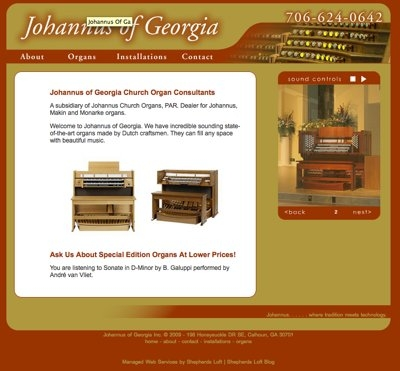 Johannus of Georgia Church Organ Consultants