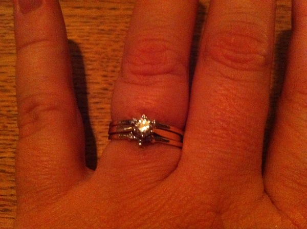Ching Ching! Look who got a bigger bling ring!  Thanks @Dutchcowby