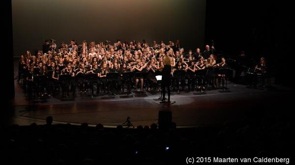 In @theateradparade was vanavond 10 jaar @blazersklas concert door @blazersrosmalen @Rodenborch #rosmalen