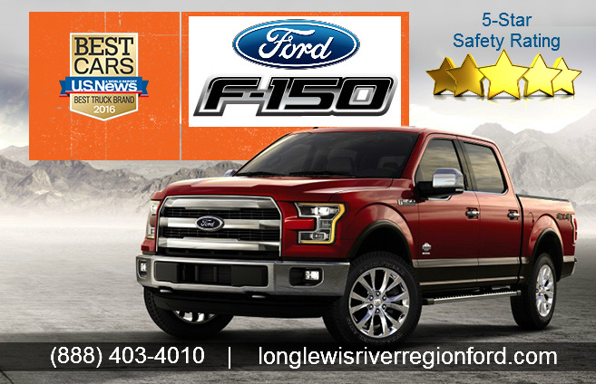 ford f 150 truck with 5 star safety ratings by long lewis of the river region llrrford on. Black Bedroom Furniture Sets. Home Design Ideas