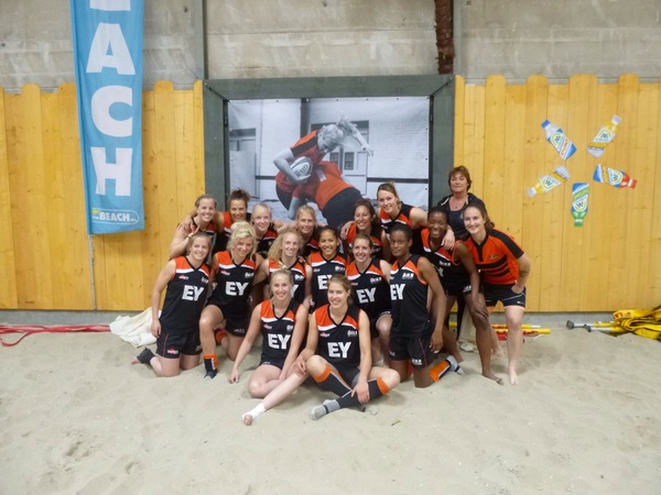 Beachtraining @the beach Aalsmeer. Great fun!