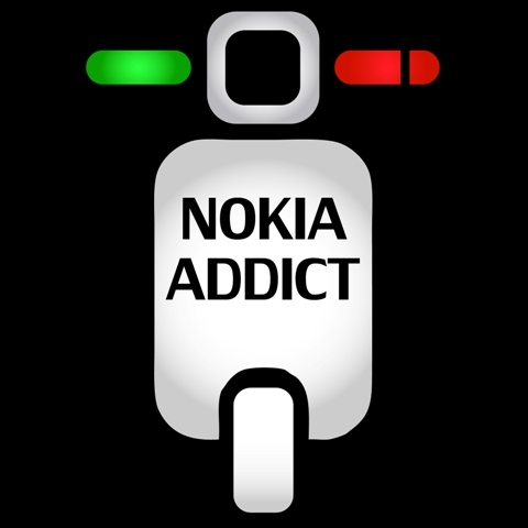 The new nokiAAddict avatar and new twitter account @nokiaaddict