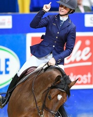 What a horse! Winning the GRAND PRIX of Dortmund. CSI4****. #cwd #ego7 #OnesInALifeTimeHorse