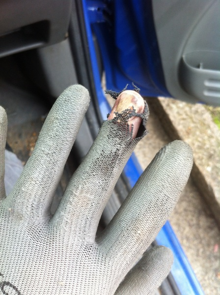 So a dodgy fuse box nearly blew my finger off today....