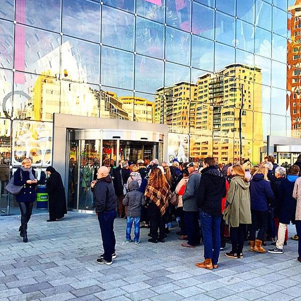 File voor de #markthal ook dat is #Rotterdam