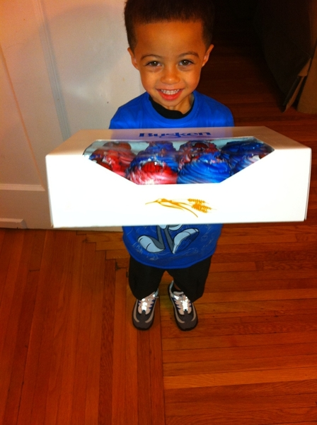 Happy 4th Birthday to my little man!!! 