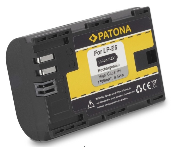 Canon Eos 5d Mark II III LPE6 Bateria Compatible Marca Patona