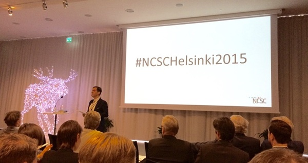 #NCSCHelsinki2015 kicks off . @ICSCEurope